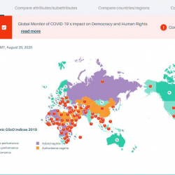 New Global Monitor tracks impact of COVID-19 on democracy and human rights