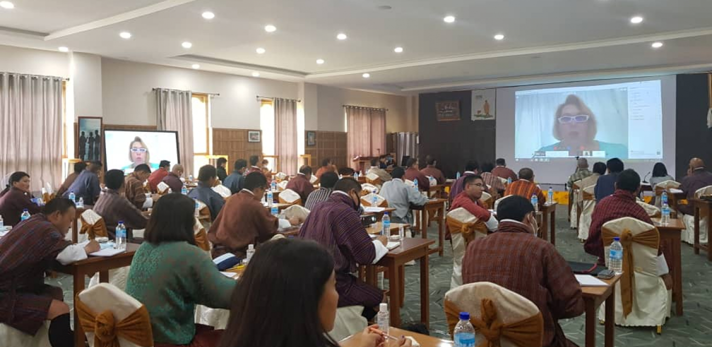 Legislative Drafting Dialogue with the Parliament of Bhutan